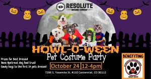Resolute Brewing Pet Costume Party to Benefit Pawsitive Restorations Animal Rescue!